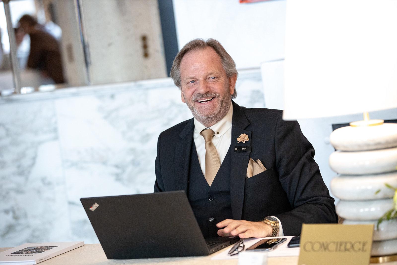 Concierge at Britannia Hotel in Trondheim