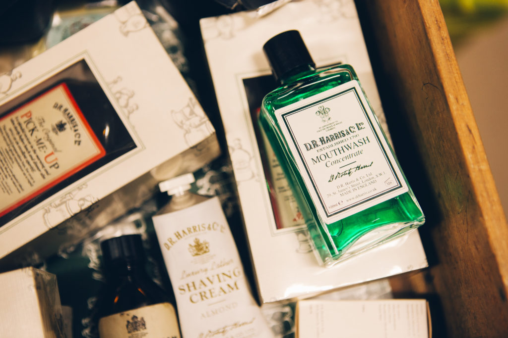 D. R. Harris St James chemist and perfumer