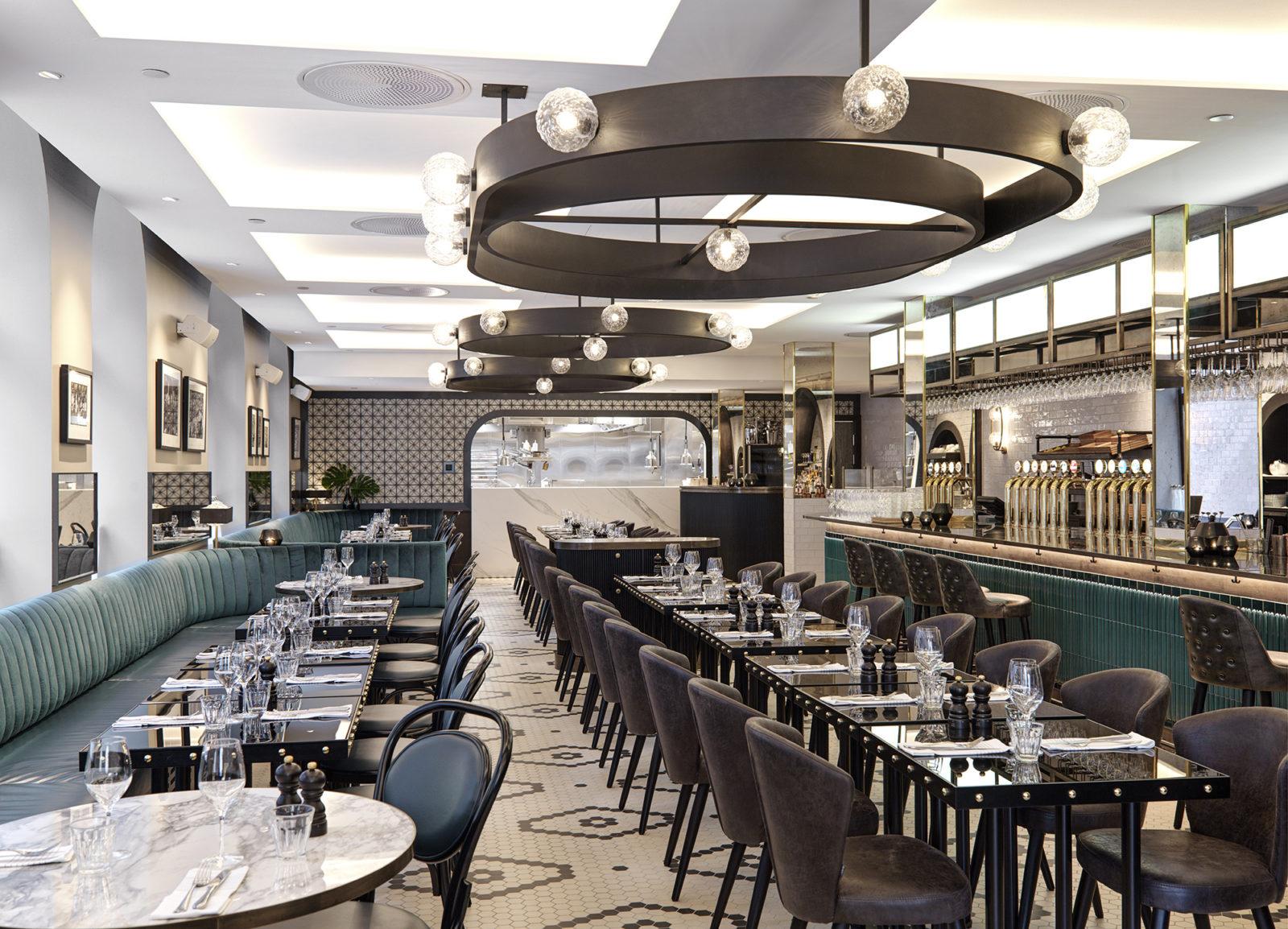 Restaurant Brasserie Britannia in Trondheim