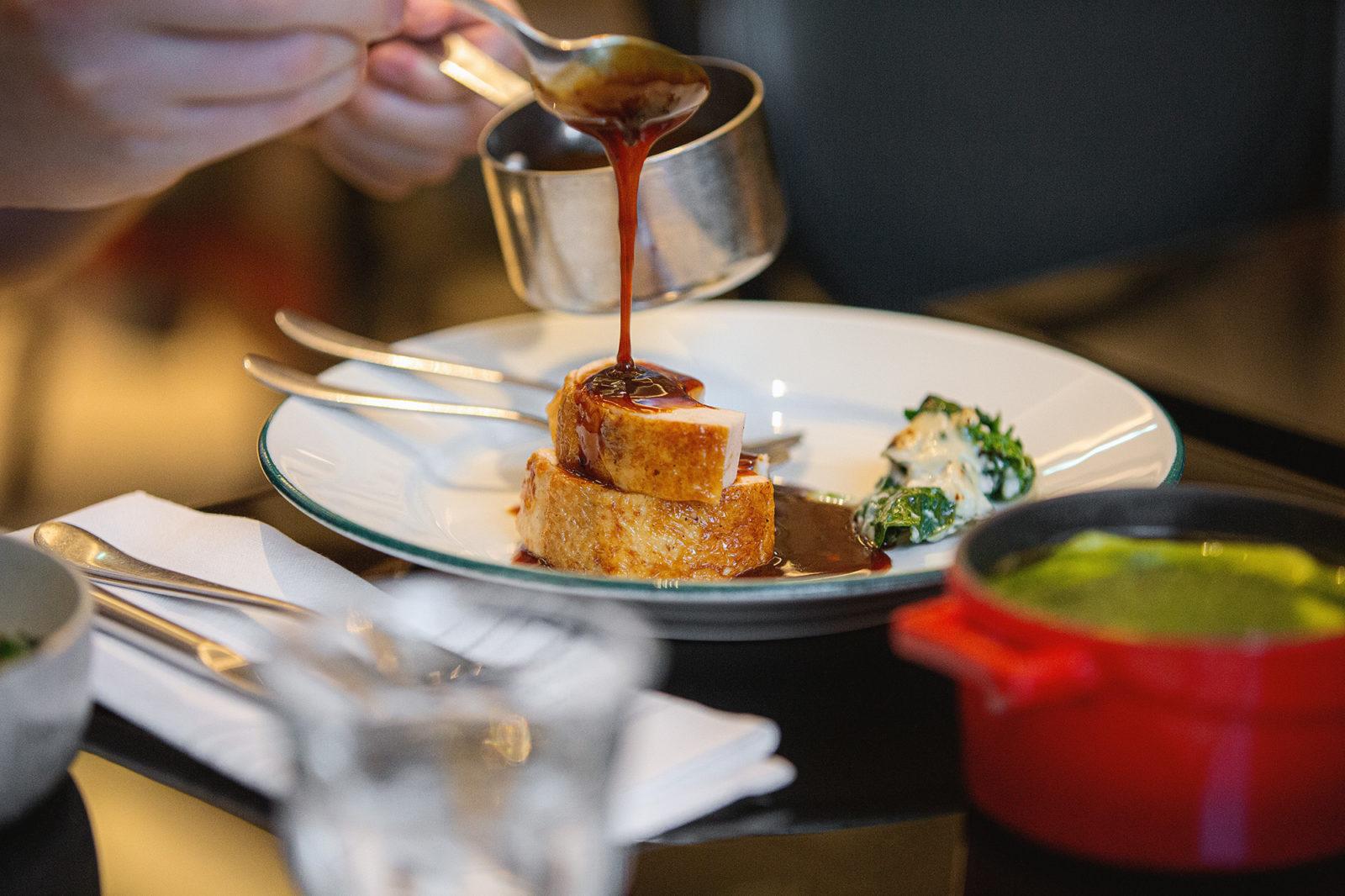 Brasserie Britannia sharing chicken platter