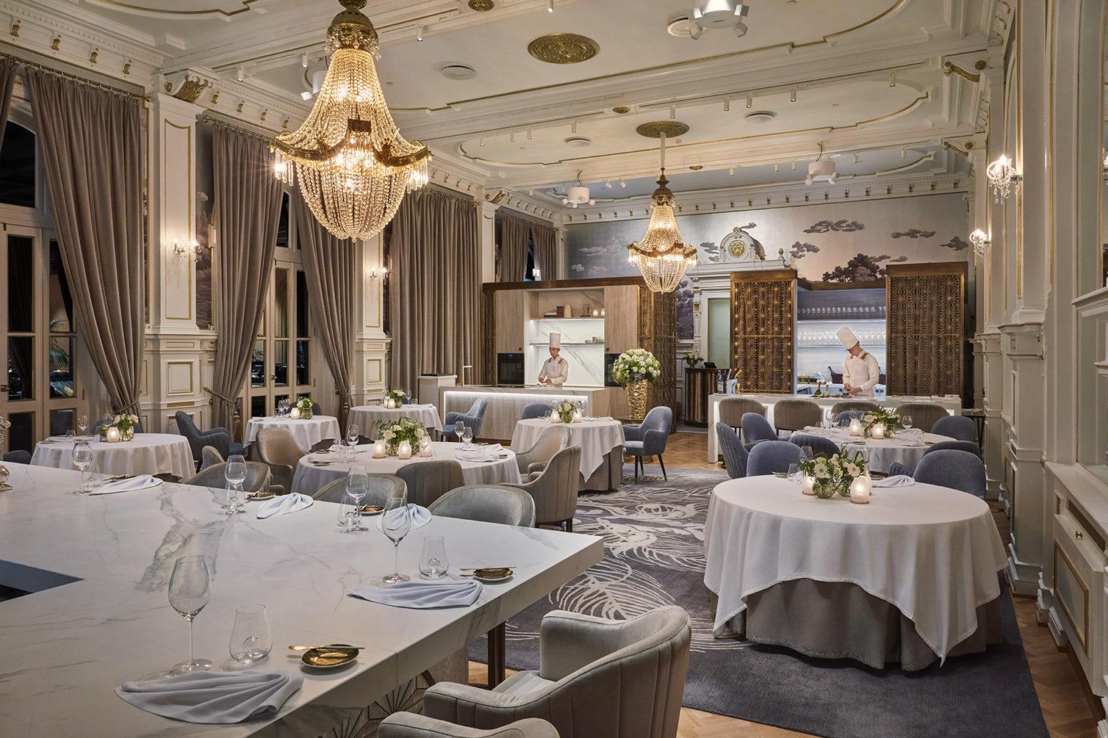 Speilsalen lokale - Michelin restaurant i Trondheim