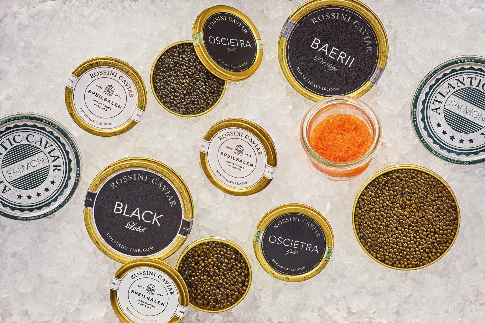 I Michelin-restauranten finnes en helt unik caviarbar