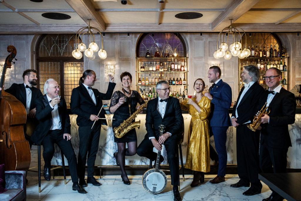 Britannia Superior Swing Orchestra in Palmehaven