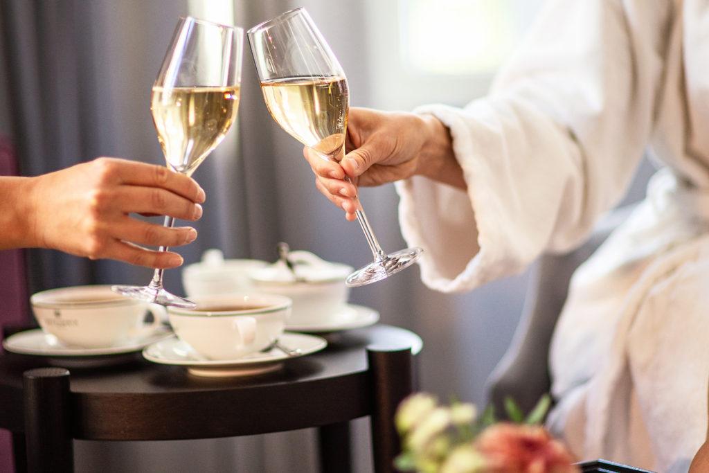 Luksusweekend med champagne på Britannia Hotel