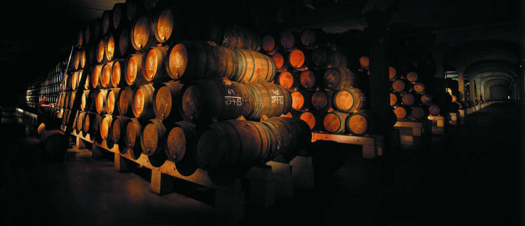 The barrels of legendary wine producer, La Rioja Alta