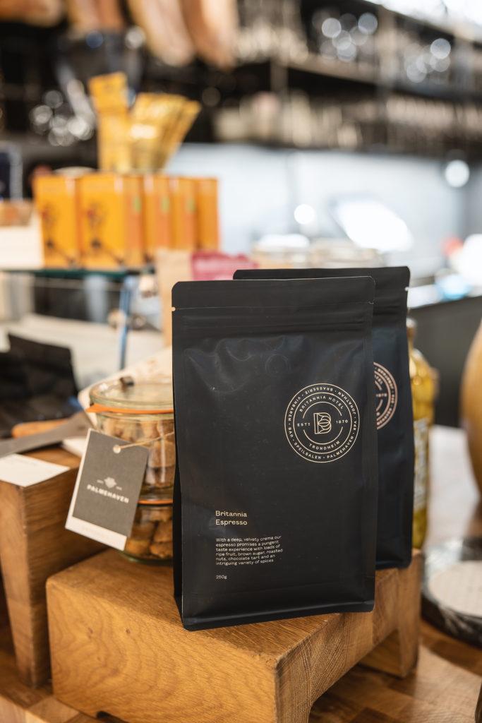 Britannia Coffee created in collaboration with Pala, pictured here in Britannia's Vinabaren