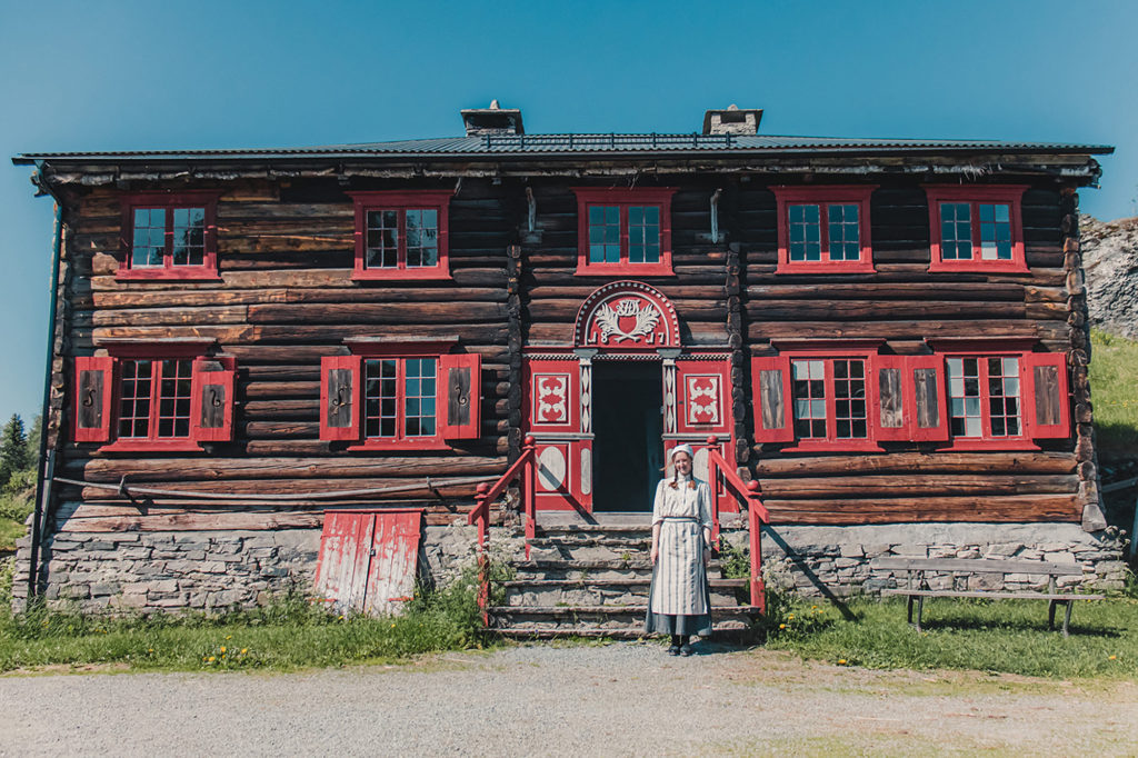 Old building at Museum in Trondheim