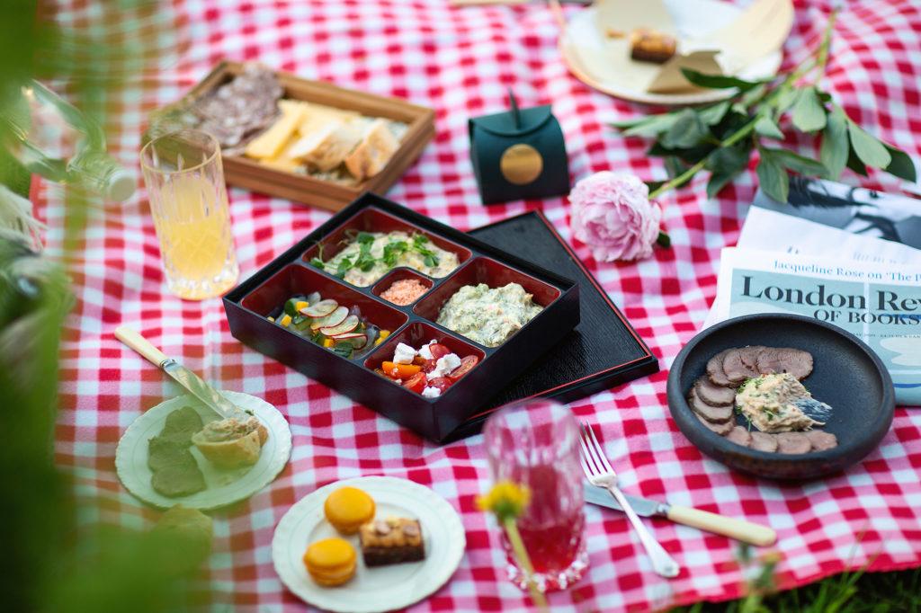 Britannia's picnic spread