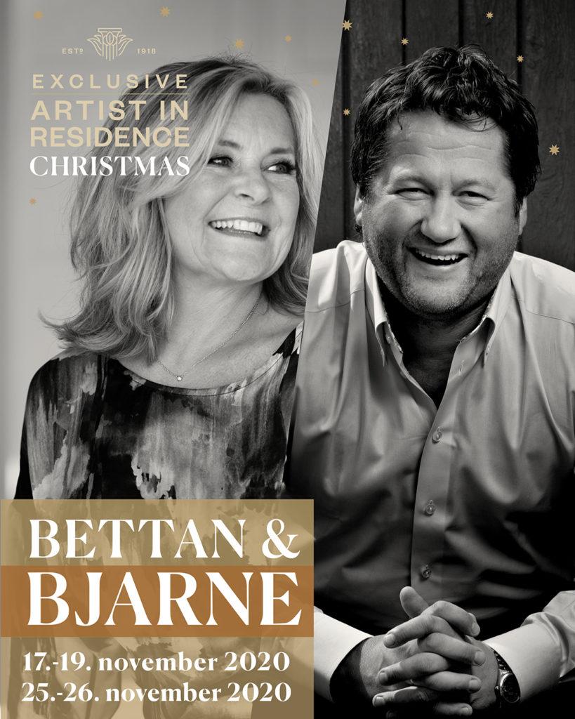 Montage of Bjarne Brøndbo and Bettan
