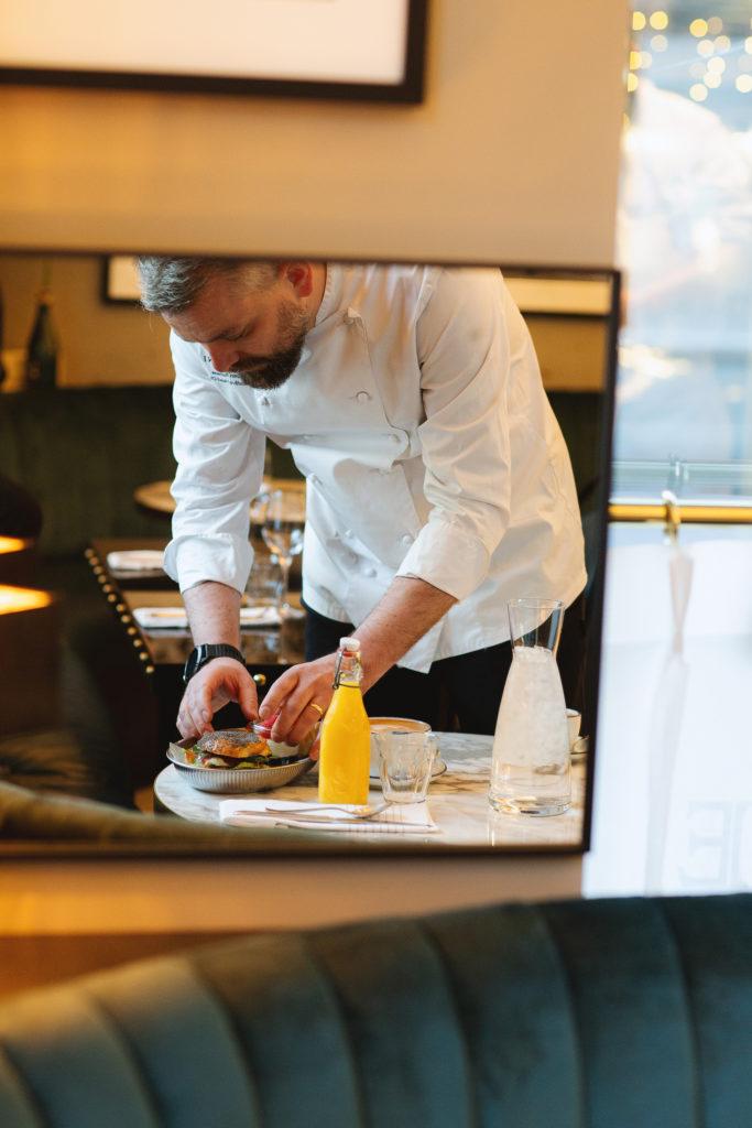 Breakfast at Brasserie Britannia