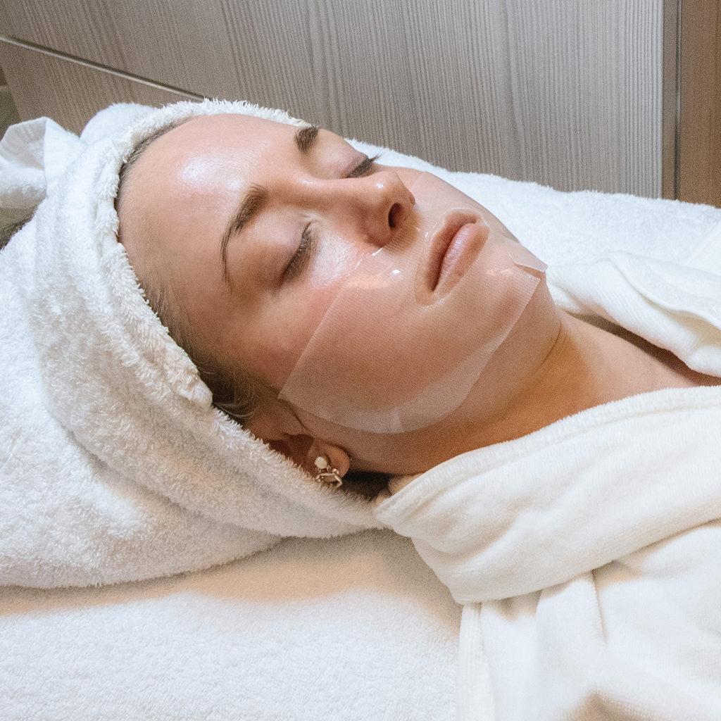elemis biotec treatment at Britannia spa