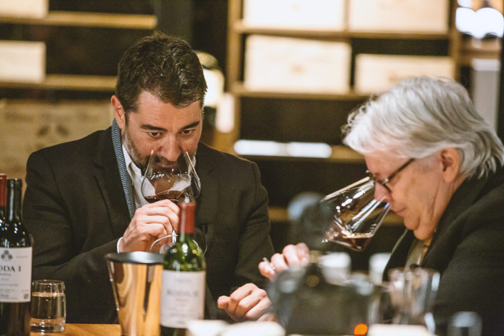 Winetasting in Britannia's Vinbaren