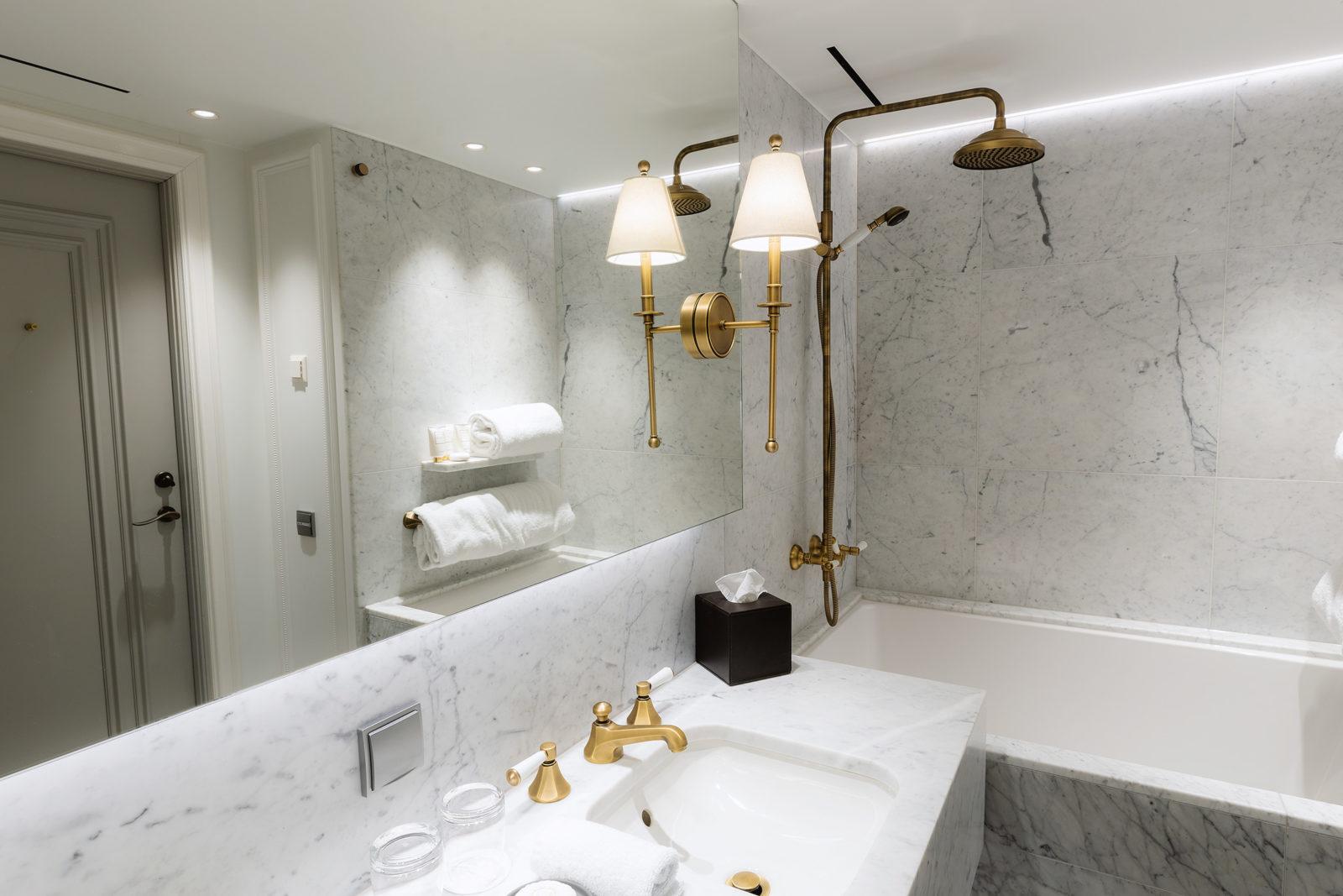 Deluxe suite at Britannia Hotel