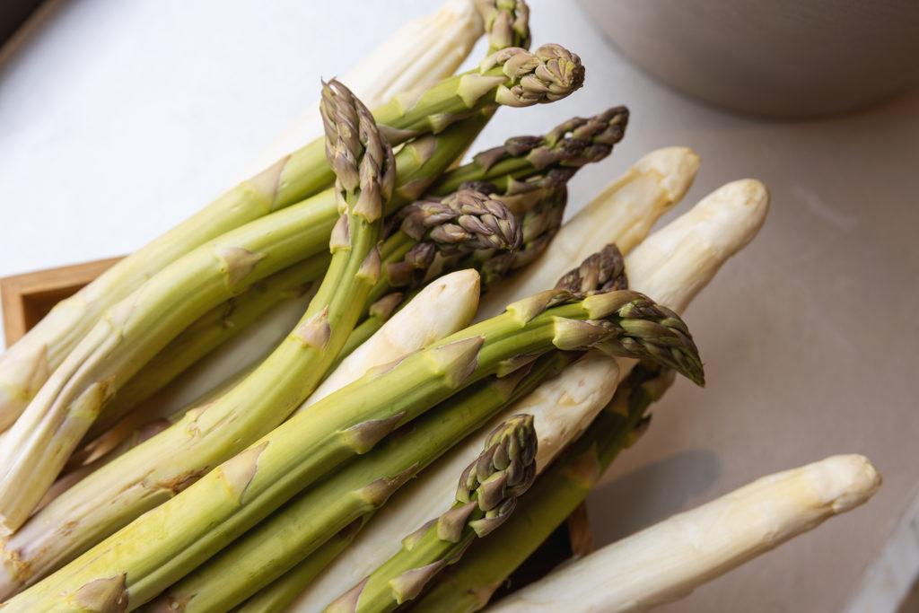 asparagus at Britannia