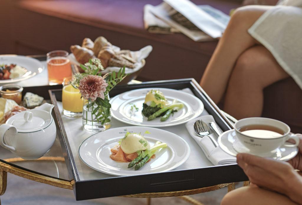 in-room dining Britannia Hotel breakfast
