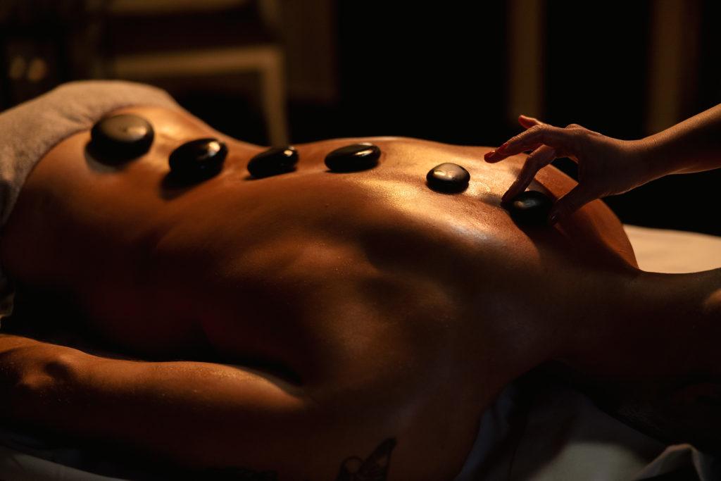Britannia Spa hot stone massage