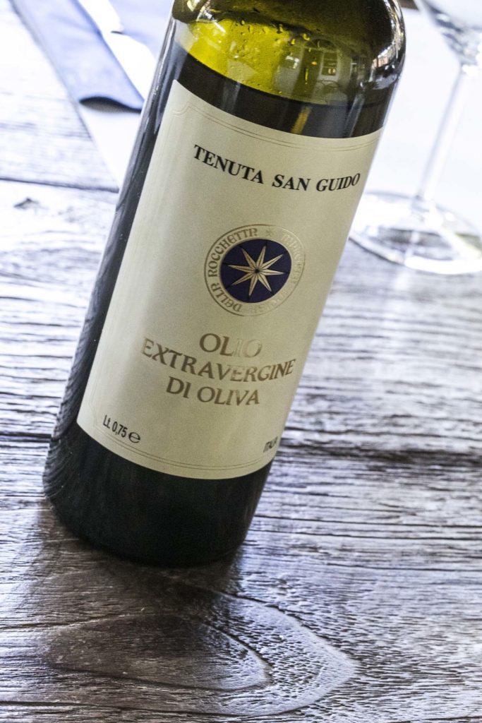 Olive Oil Tenuta San Guido