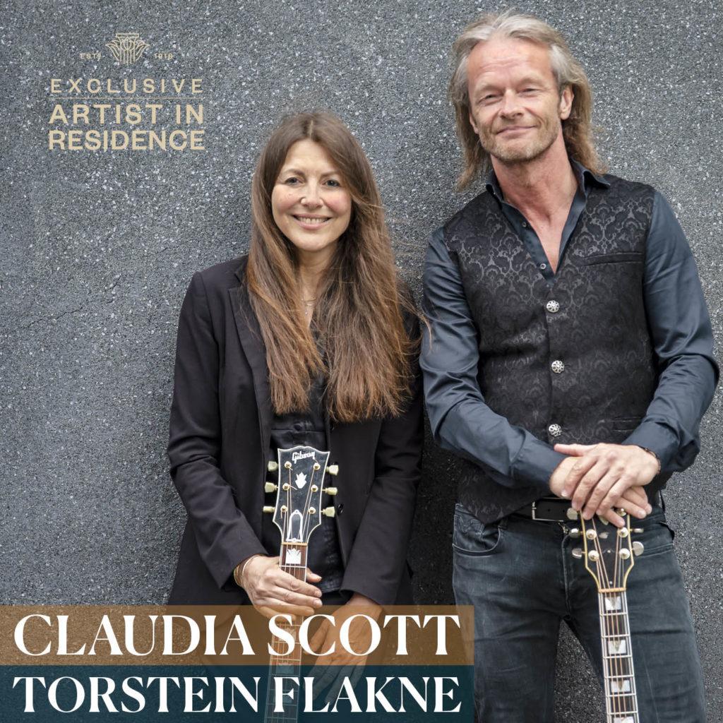 Claudia Scott and Torstein Flakne
